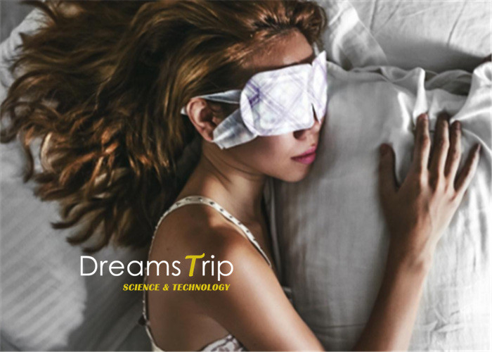 Self Heating Steam Eye Mask Real Steam Released Disposable SPA