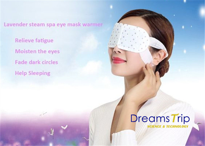 Self Heated Lavender Steam Eye Mask Real Steam Released Cotton Disposable