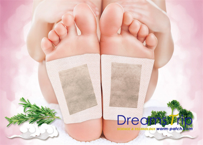 Royal Detoxification Foot Pads Paste Adhesive Herbal Aged Reduce Blood Sugar Pressure